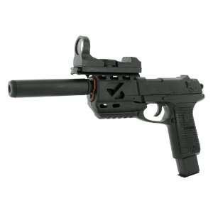 Spring Tactical P89 Pistol FPS 140 Silencer Airsoft Gun