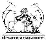 Drums Etc Hickory Wood Tip Drumsticks