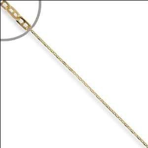 Gold, Gucci Mariner Anchor Link Chain Necklace 1mm Wide Jewelry