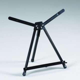 Aluminum Art Artist Table Top Display Easel  Small Wings Adjustable