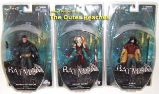 DC DIRECT Batman ARKHAM CITY 3 Action Figure SET IN STOCK Robin Harley
