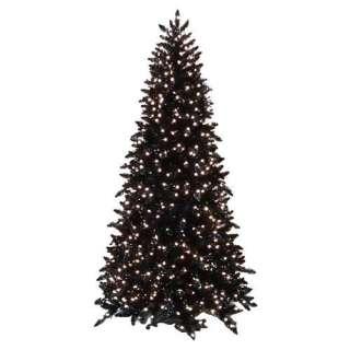 ft. Shimmering Black Slim Pre lit Christmas Tree Christmas Decor