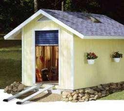10 x 10 Greenhouse Backyard Garden Shed Plans 41010