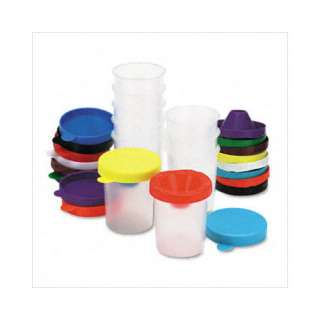 THE CHENILLE KRAFT COMPANY No Spill Paint Cups