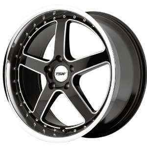 TSW Alloy Wheels Black Ball Cut Machined Wheel (18x8