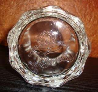 Crown Royal Scotch Whiskey Rocks Glass Embossed