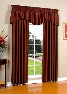 Persia Faux Silk Curtain Curtains Panel Panels Pair