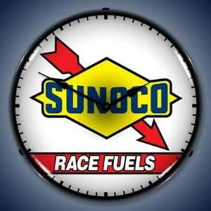 Sunoco Race Fuels Lighted Wall Clock