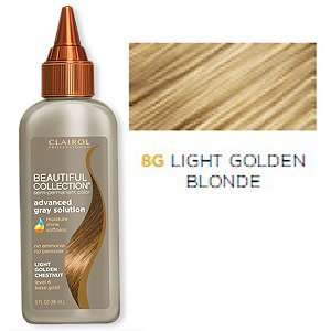 Grey Solution Semi Permanent Hair Color No. 8G Light Golden Blonde 3oz