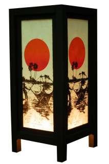 OLD DESIGN ASIAN ORIENTAL FISHERMAN TABLE LAMP