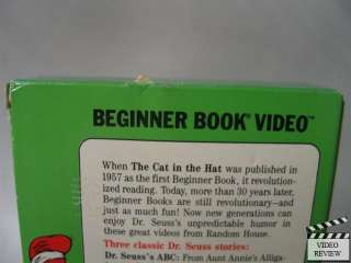 Dr. Seusss ABC VHS Beginner Book Video