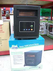 Electric Fireplace Source LifeSmart Infrared Portable Heater   LS 1500