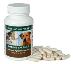 Only Natural Pet Immune Balance Dog Cat Supplement