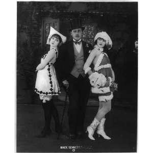 ,Alice Maison,Mack Sennett Comedies,actors,pose,c1919