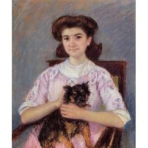 Mary Stevenson Cassatt   24 x 28 inches   Portrait  Home & Kitchen