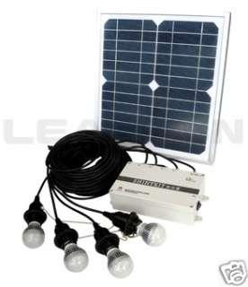 NEW INDOOR & OUTDOOR STANDARD SOLAR HOME LIGHTING KIT