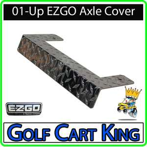 NEW EZGO TXT Golf Cart Diamond Plate Front Axle Cover