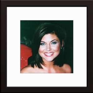 Tiffani Amber Thiessen Custom Framed And Matted Color