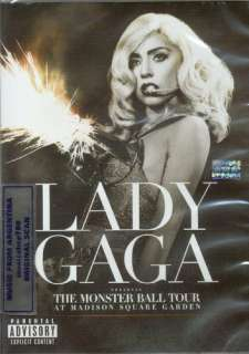 THE MONSTER BALL TOUR AT MADISON SQUARE GARDEN SEALED NEW 2011