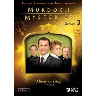 Murdoch Mysteries Season 3 ~ Yannick Bisson, Helene Joy, Thomas Craig
