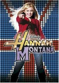 HANNAH MONTANA (Miley Cyrus) UK POSTER Disney