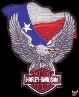 HARLEY DAVIDSON TEXAS FLAG VEST PATCH NEW IN PACKAGE BIKER JACKET