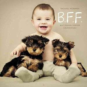 B.F.F. Best Friends Forever Calendar, McKenna, Rachael Calendars