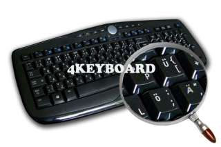 ENGLISH US TRANSPARENT KEYBOARD STICKERS WHITE LETTERS