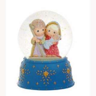 Precious Moments Nativity Musical Waterball #911005 NIB