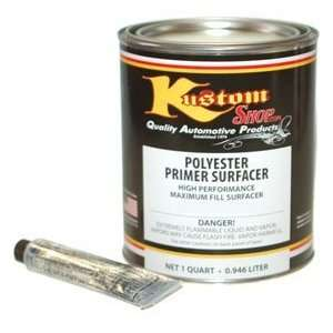 Kustom Shop KPP107 QT Polyester Primer Surfacer Buff Quart