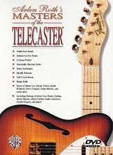 Arlen Roth Masters Of The Telecaster DVD NEW
