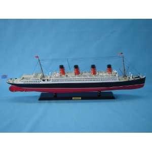 Ship Model Cruise Ship Replica Scale Model Boat Nautical Home Beach