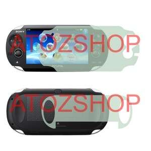 FULL BODY FRONT BACK SCREEN PROTECTORS SONY PLAYSTATION PS VITA