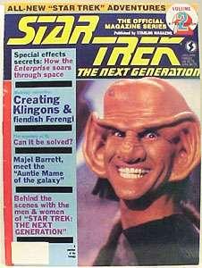 Star Trek Next Generation Official Magazine #2, MINT
