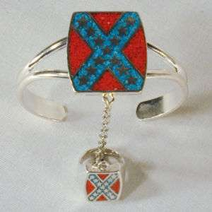 BRACELET #60 ladies fashion jewelry confederate ring chain new