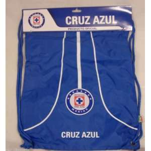 Rhinox Cruz Azul Mexico Large Soccer Bag Light Back Sack: