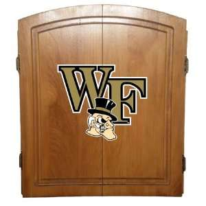 Officially Licensed College Dart Board Cabinet