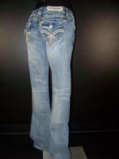 Womens ROCK REVIVAL Boot Cut Jeans ELAINA B11 WHIPS
