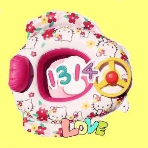 swim ring with sound inflatable swimming ring cartoom swim ring baby
