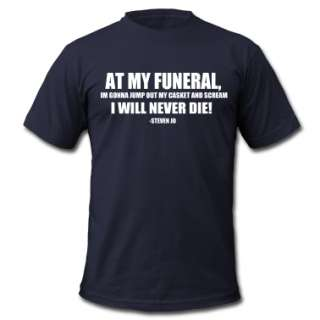 FUNERAL  Mens T Shirt by American Apparel designed by StevenJo